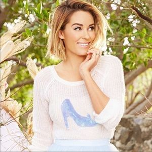 Lauren Conrad Disney Cinderella's Slipper Sweater
